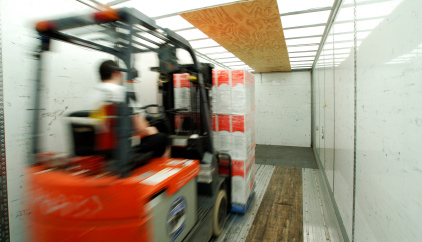 Unloading freight